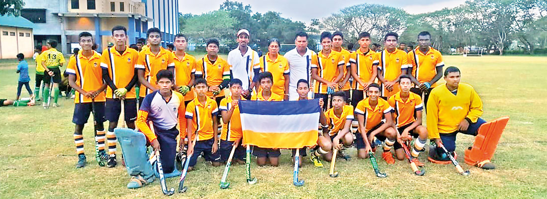 Zahira Matale and Peterites Under-20 joint hockey champs