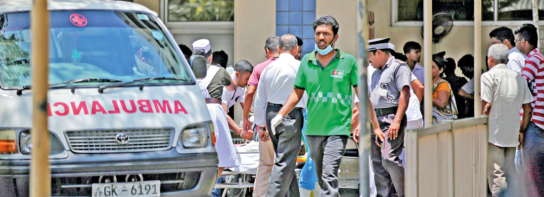 Easter Sunday horror: How NHSL and Negombo Hospital worked with clinical precision