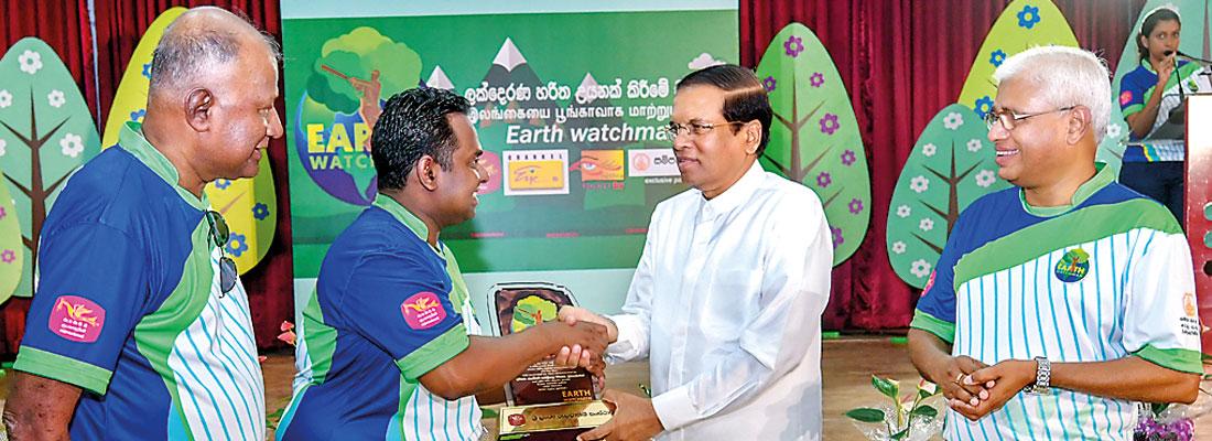 Batting for a green globe  – Earth Watchman
