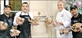 Ministry of Crab experience to Europe: First time at Shangri-La Hotel, Paris