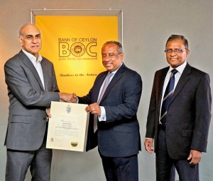 BOC only Sri Lankan Bank to exceed Rs.50 billion brand value