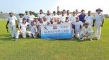Brave Aussie veterans play friendly cricket game in Galle