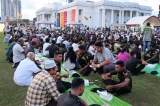 All faiths come together for Iftar at the Colombo Town Hall Lawn