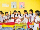 Dhammananda Vidyalaya Students celebrate the Vesak