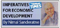 The road to economic recovery and development