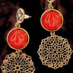 Some of her pretty designs.  Pix by M.A. Pushpa Kumara