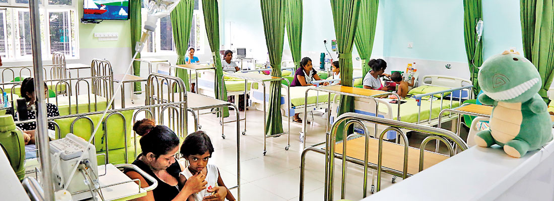 Birth of 'Suraksha' at Negombo Hospital boon to little ones