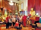 Visit of Buddhist delegation