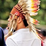 Kandy: Feathered rugger fan