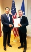 Rodney Perera assumes duties as  Sri Lanka's new Ambassador to the US