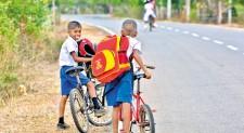 Eco-friendly transport to school