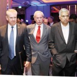 Professor John Wood - Chair of UTS Insearch Sri Lanka, His Excellency Mr. David Holly - Australia's High Commissioner to Sri Lanka, Mr. Ranil Shriyan Wickremesinghe - The Prime Minister of Sri Lanka;