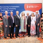 The UTS team from Australia and India, Seraphim Communications from New Delhi and Anusha David – Chairman Headlines PR / Partner Interbrand Sri Lanka, pictured together with Minister Sagala Ratnayake and HE David Holly - Australia's High Commissioner to  Sri Lanka