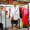 Sri Lanka's young international fashion star, AOD Alumni Amesh awarded as PREMIUM YOUNG TALENT in Berlin