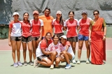 Ladies sweep Schools Open Tennis with two titles