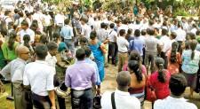 Undergrad-Staff clash at Ruhuna Campus