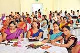 Over A/L 100 teachers at CA Sri Lanka's Gurunena seminar