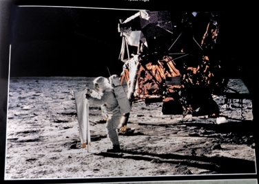 Back to the moon with a roomful of memorabilia