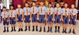 Enrolment Ceremony for new Scouts