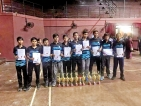 Royal Colombo and Sangamitta GS Galle Under-15 Super  'A' Division shuttle champs