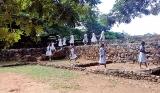 Kirama Dhammananda Maha Vidyalaya visited the Katuwana Dutch Fort