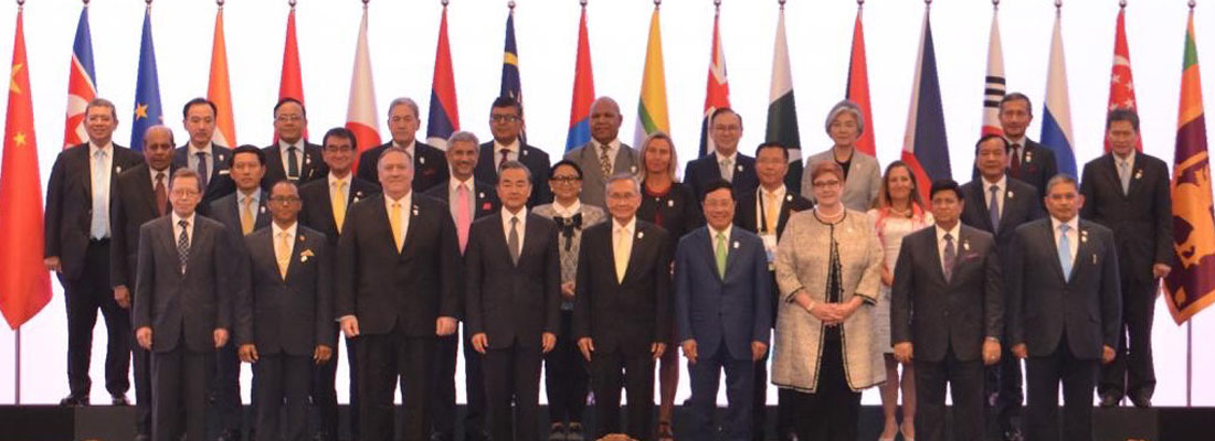 Concerted global efforts needed to counter traditional and non-traditional security concerns : FM Marapana