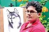 A portrait of your pet? That's Nishitha's forte