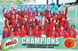 HFC K'gala Milo Netball Queens for the 12th successive year
