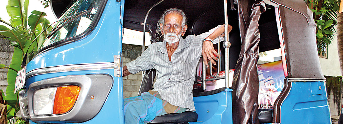 89 is just a number for this tuk driver