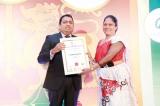 Principal of St. Paul's Girls' College, Milagiriya honoured with a Leadership award