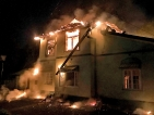 Fire destroys 100-year-old  colonial bungalow in Hatton