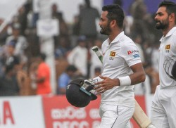 Dimuth stars as Sri Lanka sniff victory