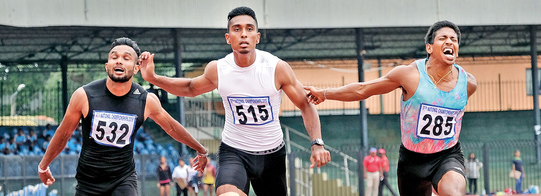 Eshan, Sugandi still the fastest runners in Sri Lanka