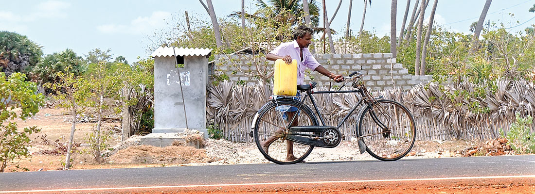 Jaffna offshore islands struggle without water