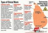 Big stink over improper disposal of clinical waste