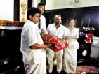 Kandy businessman continues  to donate elephant costumes