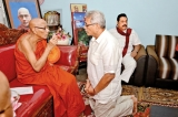 Gota on his knees for blessing