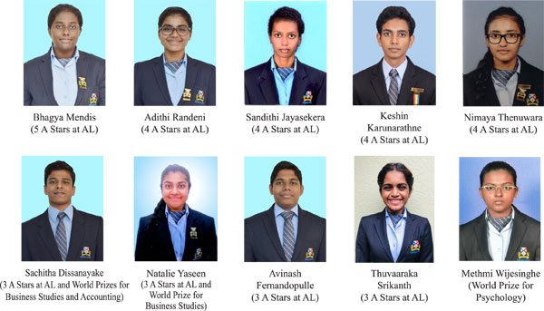 Outstanding results at Advanced Level by students of Gateway