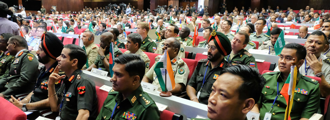 Military minds discuss security threats, response strategies