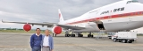 Refurbished Japan's Air Force One on sale