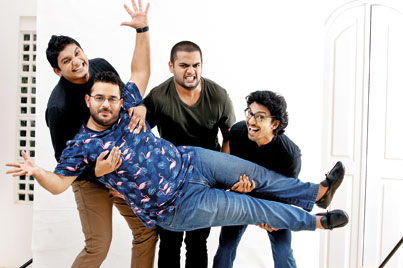 Shock and laughter: All set for a Gehan, Dino, Dominic and Pasan special