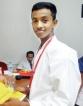 Karate Kid Dulanjana, aims high