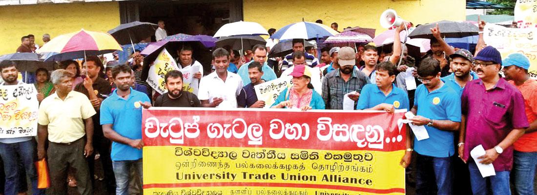 University non-academic staff Unions warn of intensified TU action