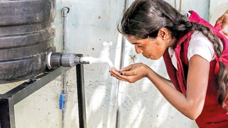 Pumping water, life and hope