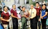 Science teacher K. Ariyasinghe honoured by Lanka Knowledge Bank