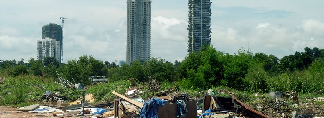 Residents suffer  as Water's Edge  garbage dump grows