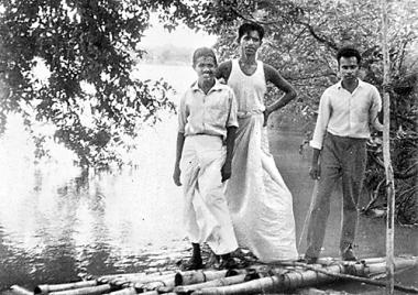 Taking on the Mahaweli in a rudderless bamboo raft