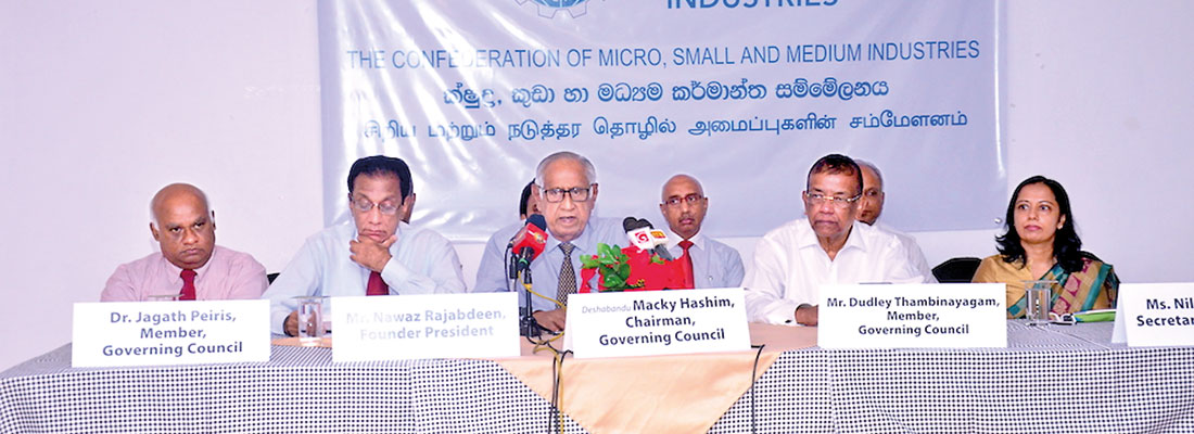 Confederation of SMI steps in for MSME growth
