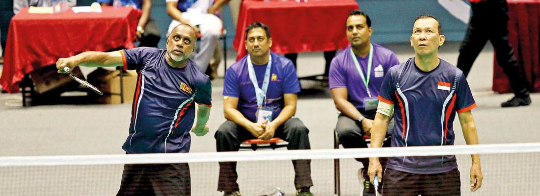 'Hill Climb' ace Rohan de Silva takes over SL Badminton podium