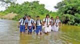 Rains bring floods